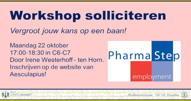 Workshop solliciteren