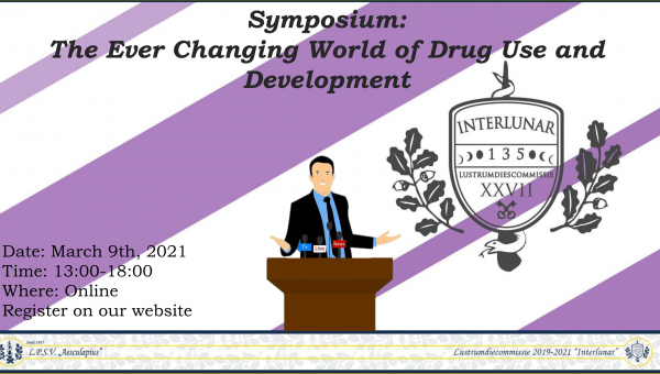 Lustrumsymposium: 'The Ever Changing World of Drug Use and Development'
